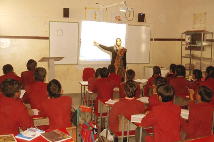 Smt Chunki Devi Mahadeo Lal Bhomrajka KVS Public School-Classroom