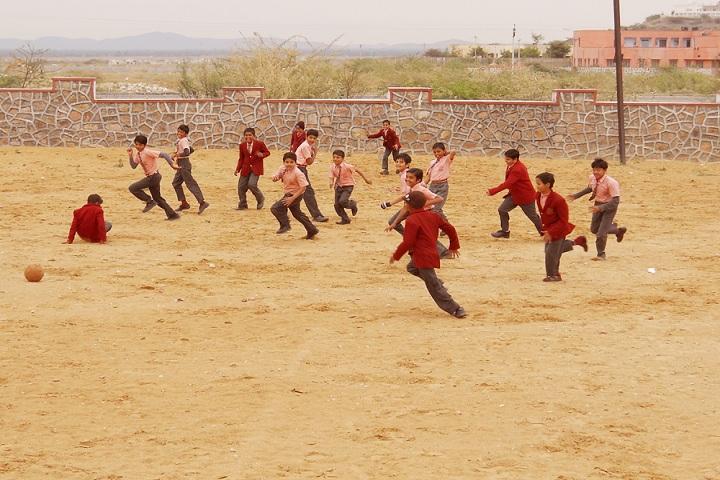 Smt Chunki Devi Mahadeo Lal Bhomrajka KVS Public School-Sports football