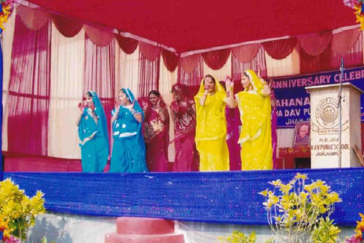 M N Jha D A V Public School- Cultural Event