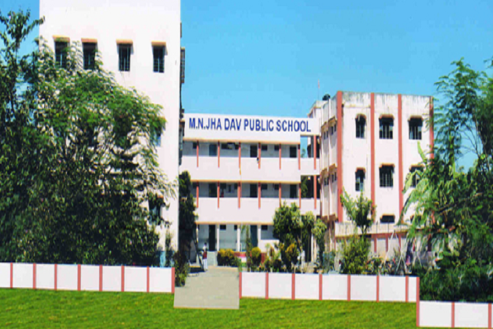 M N Jha D A V Public School- School Building