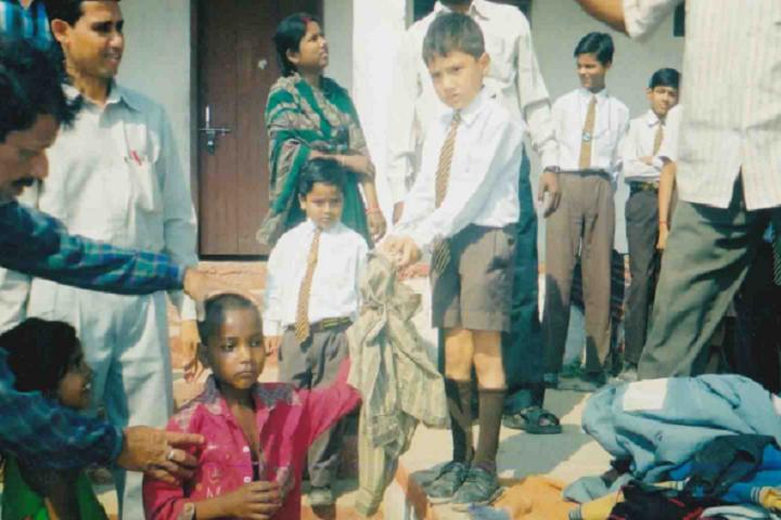 M N Jha D A V Public School- Social Activities