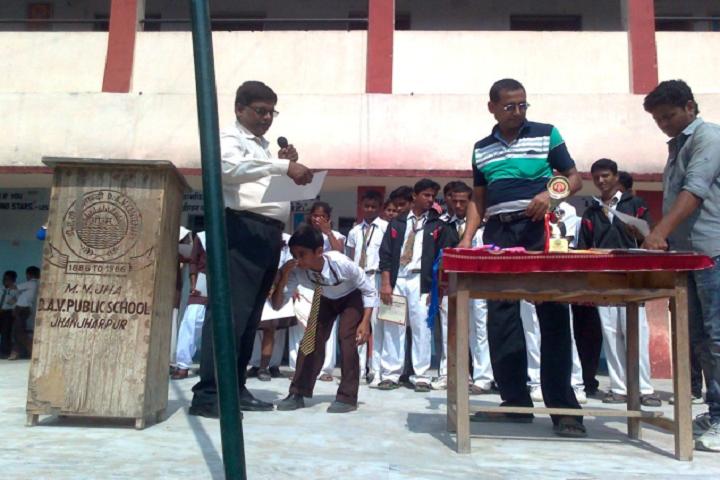 M N Jha D A V Public School-Award Ceremoney