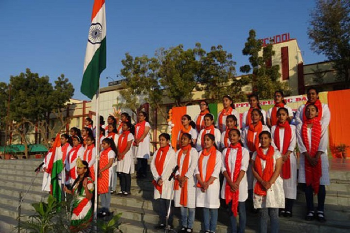 Sophia Secondary School-Events republic day programme
