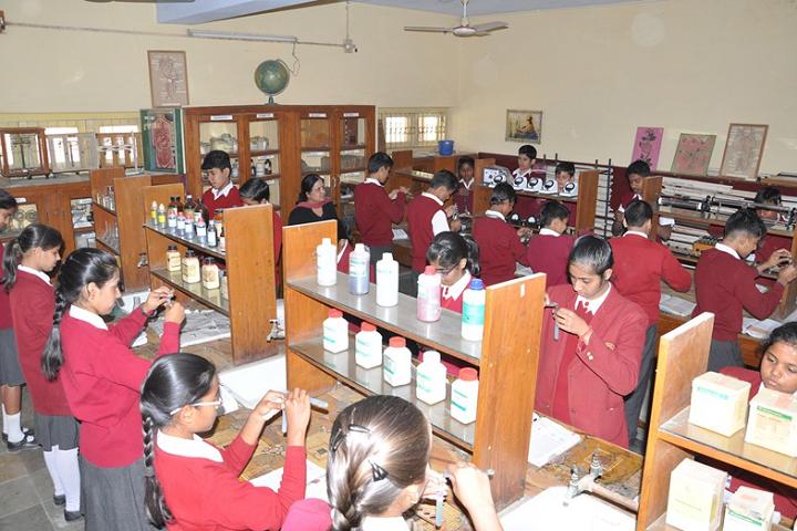 Sophia Secondary School-Laboratory