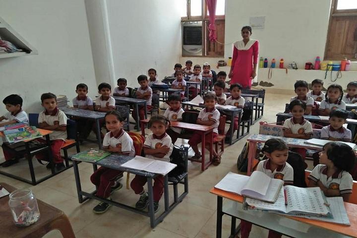 Sri Gururam Rai Public School-Classroom junior