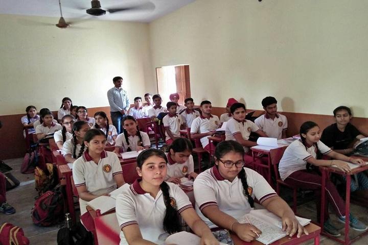 Sri Gururam Rai Public School-Classroom senior