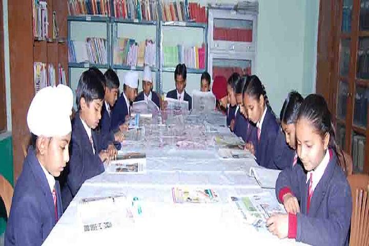 Sri Gururam Rai Public School-Library