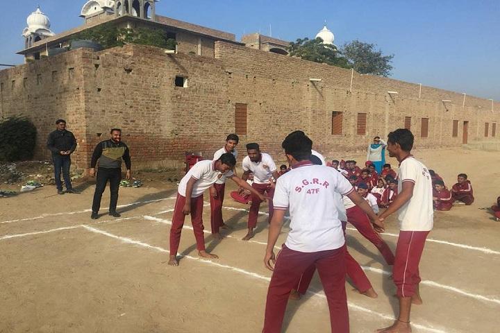 Sri Gururam Rai Public School-Sports kabbadi