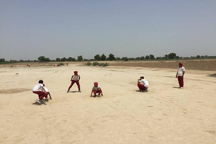 Sri Gururam Rai Public School-Sports kho kho