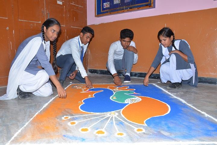 Sri Parshwanath Jain Vidyalaya-Events rangoli