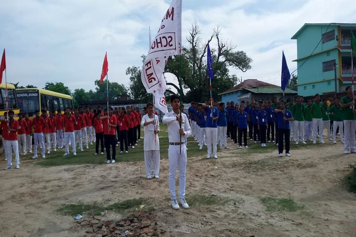 Maa Maitrayini Yogini Secondary School-Investiture Ceremoney