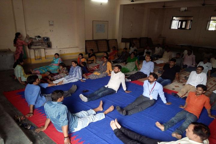 Maa Maitrayini Yogini Secondary School-Yoga Diwas