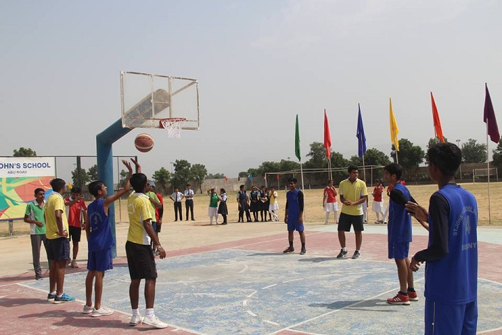 St JohnS School-Sports basketball