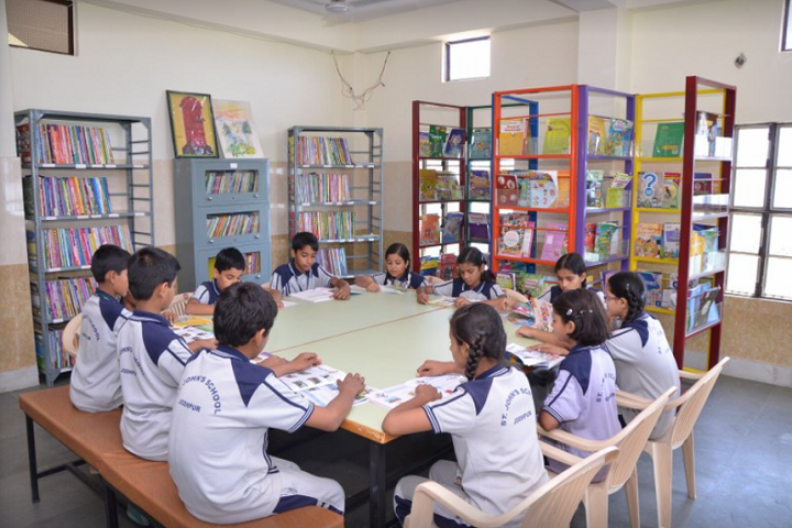 St JohnS School-Library