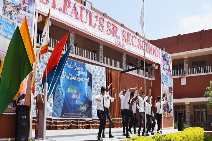 St PaulS School-Events dance