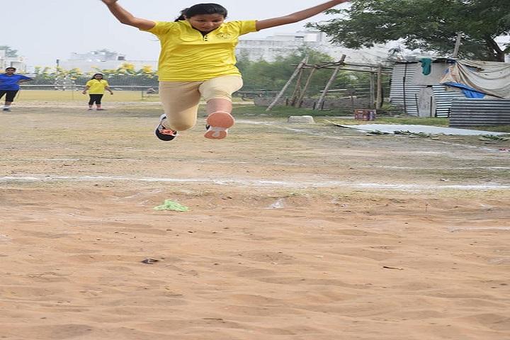 St PaulS School-Sports jump