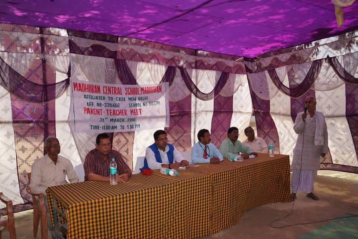 Madhuban Central School-Parent And Teacher Meet
