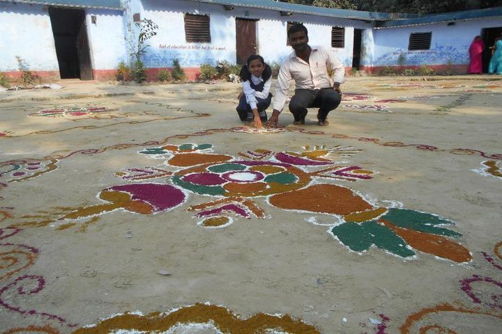 Madhuban Central School-Rangoli Competition