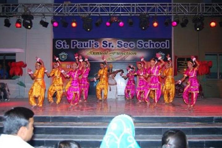St PaulS Senior Secondary School-Events Dance
