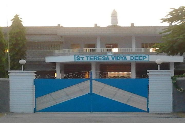 St Teresa Vidyadeep-Campus-View entrance