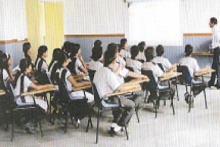St Teresa Vidyadeep-Classroom with teacher