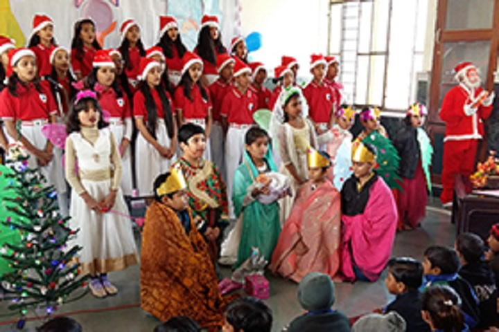 St Anselms English Medium School-Events christmas