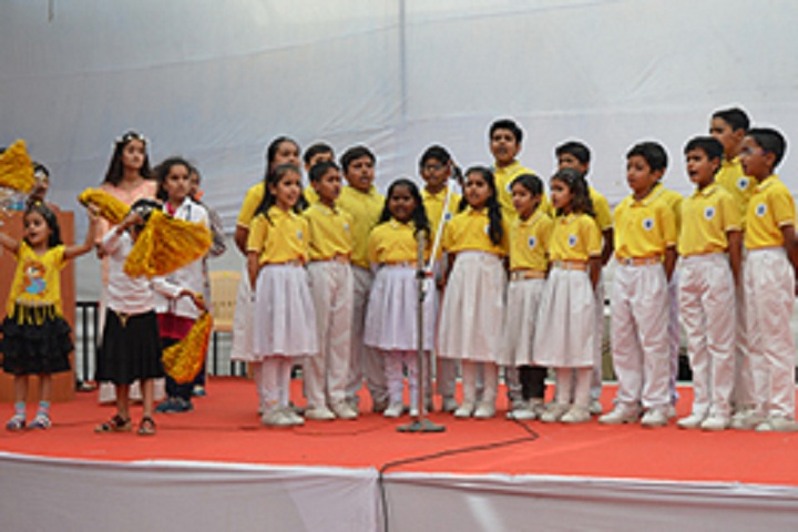 St Anselms English Medium School-Events singing