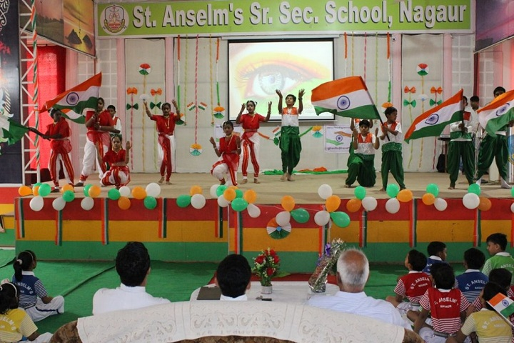 St Anselms Senior Secondary School-Events independance day programme