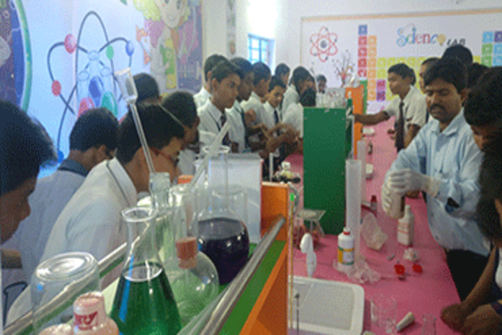 Magadh International School- Science Lab