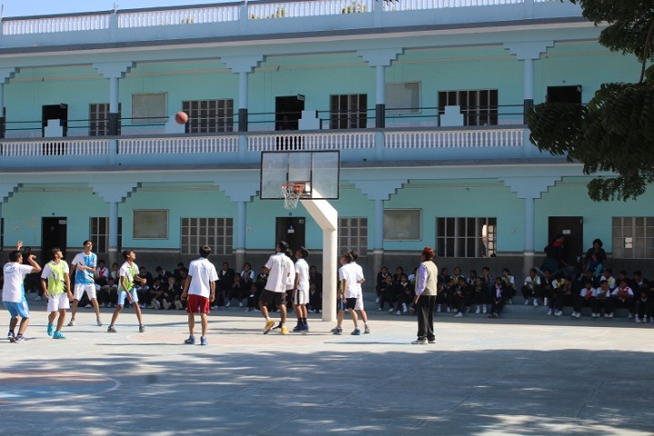 St Paul Senior Secondary School-Sports basketball