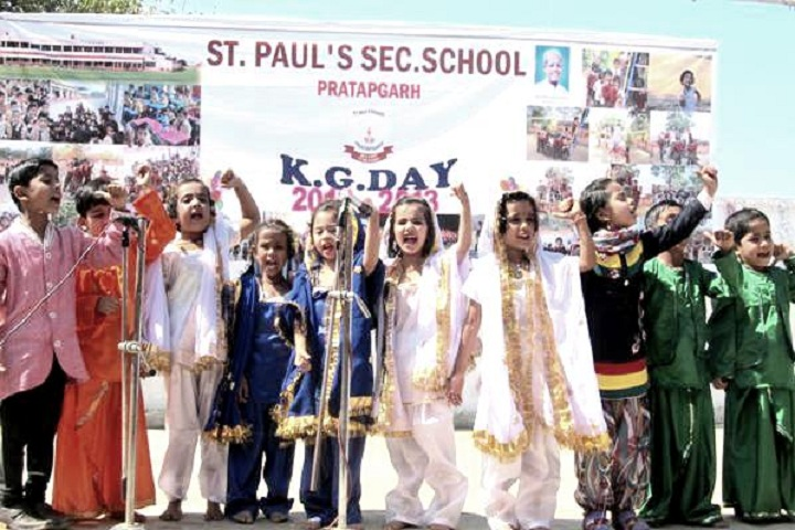 St PaulS School-Events singing