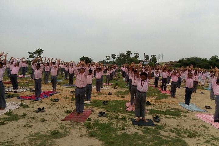 Mahadeo Shankar Lal Kataruka Saraswati Vidya Mandir-Yoga Day Celebrations