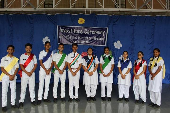 St PaulS School-Events ceremony