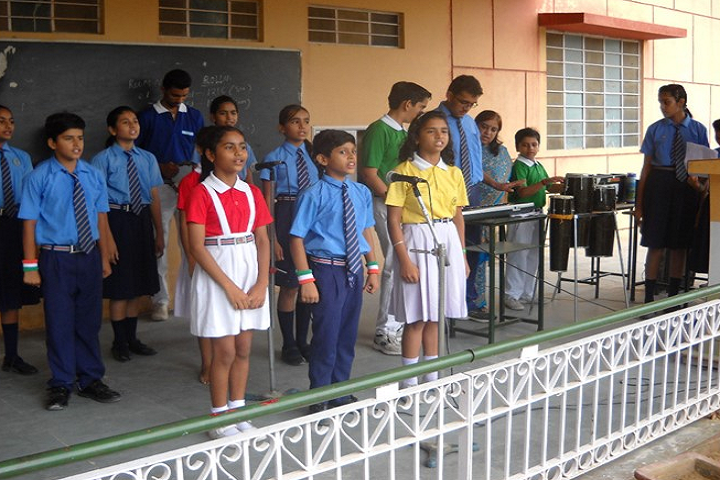 St Vivekanand Senior Secondary School-Events independance day
