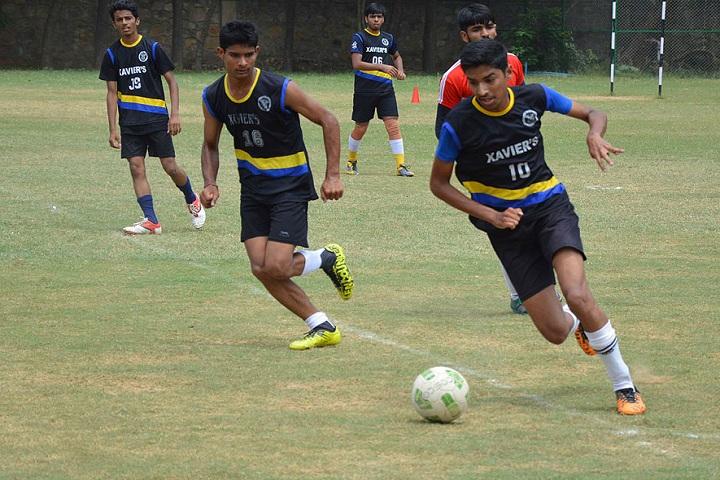 St XavierS School-Sports football