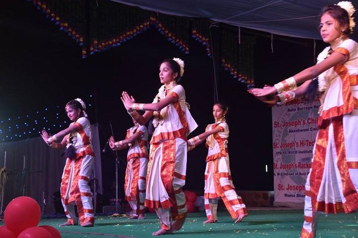 St JosephS International School-Events dance