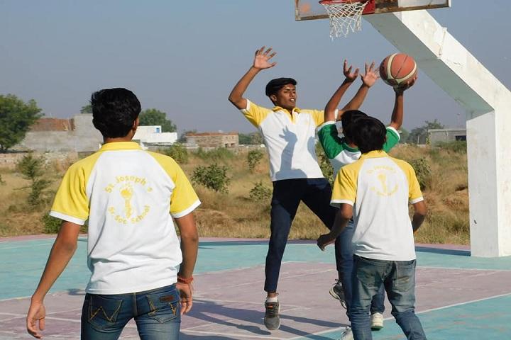 St JosephS International School-Sports basketball