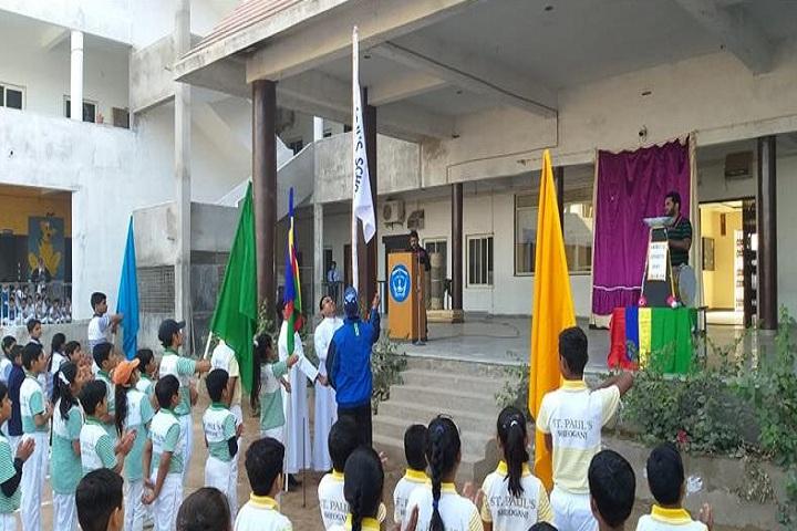 St Pauls School-Sports flag