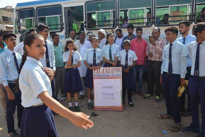 Step by Step Public School Alwar-Activity
