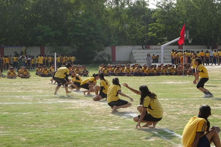 Subodh Public School-Sports kho kho