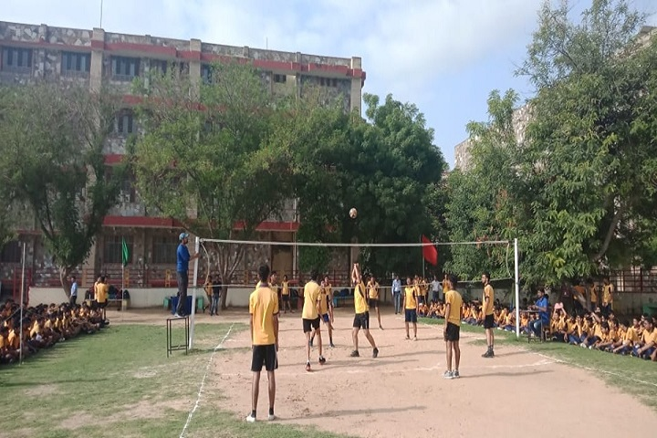 Subodh Public School-Sports vollyball