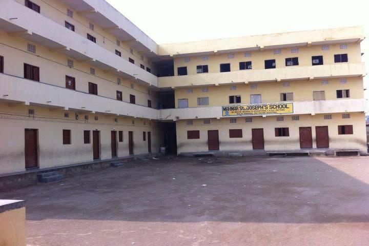 Mahnar St Josephs School-School Building