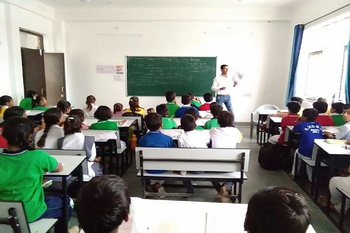 Swami Vivekanand Government Model School-Classroom