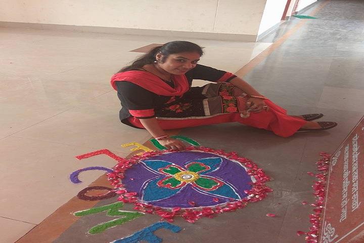 Swami Vivekanand Government Model School-Events rangoli