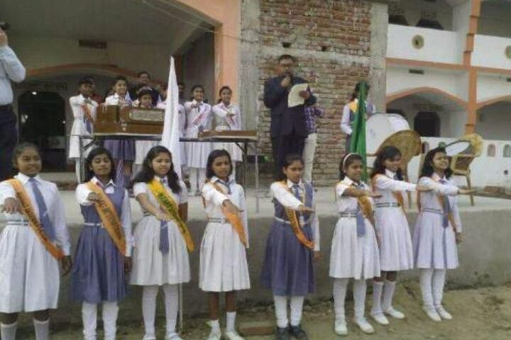 Manas International Public School-Assembly