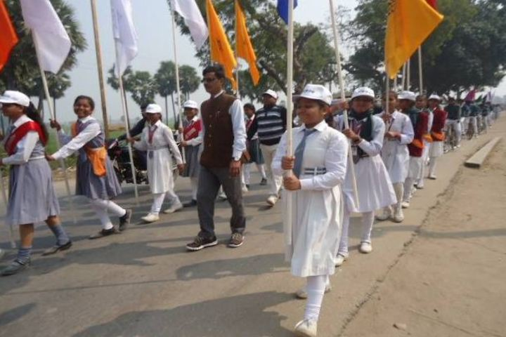 Manas International Public School-March Past
