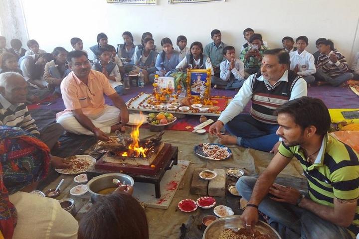 Swami Vivekanand Government Model School-Saraswati Pooja