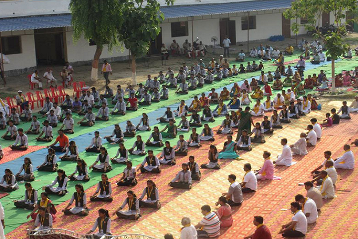 Manas Vidyalaya- International Yoga Day