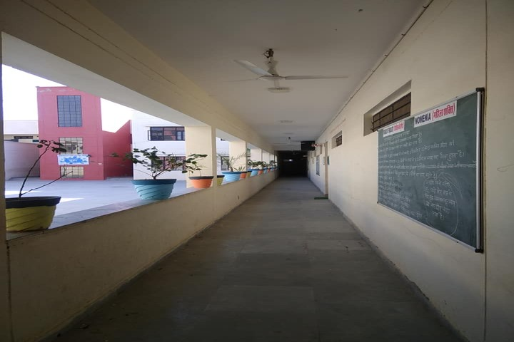 Swami Vivekanand Government Model School-Corridor