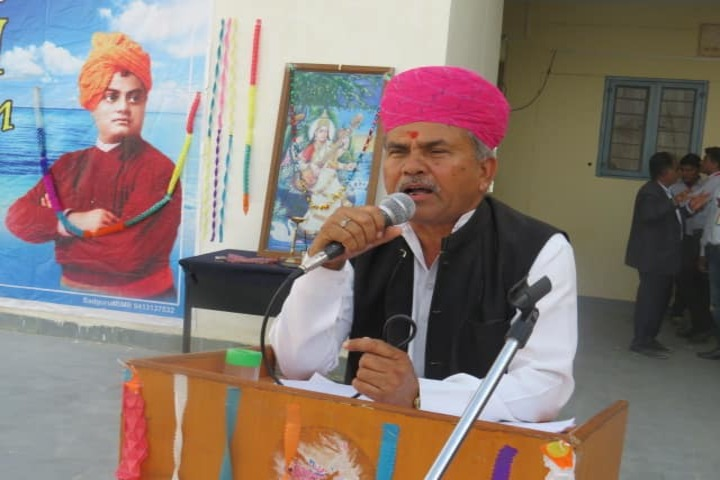 Swami Vivekanand Govt Model School-Speech